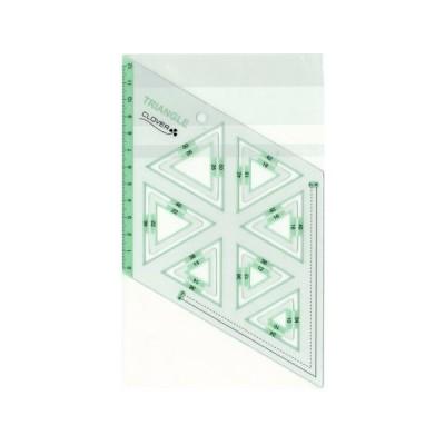 ピーステンプレート 正三角形 Clover 57-998