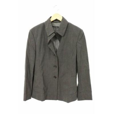 【中古】ストラネスガブリエルストレーネ セットアップ 上下 スーツ ジャケット スカート 36 グレー /RI15 レディース