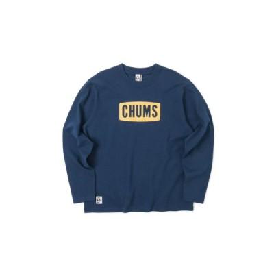 チャムス(CHUMS) ボートロゴ 長袖Tシャツ CH01-1284-N015 (メンズ)