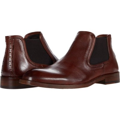 ジョンストンアンドマーフィー J&M Collection メンズ シューズ・靴 Donahue Chelsea Mahogany
