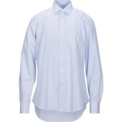 ランバン LANVIN メンズ シャツ トップス striped shirt Azure