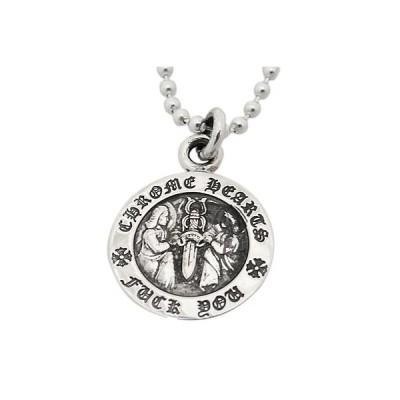 クロムハーツ Chrome Hearts ネックレス angel medal charm V1 エンジェル メダル チャームV1