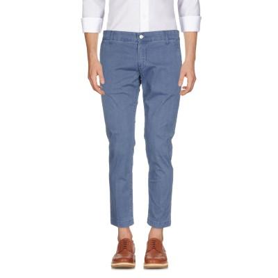 アントレ アミ ENTRE AMIS パンツ ブルー 35 コットン 96% / ポリウレタン 4% パンツ