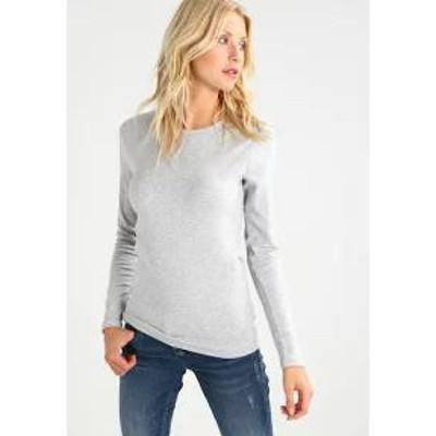 GAP レディースその他 CREW TEE - Long sleeved top - heather grey heather grey