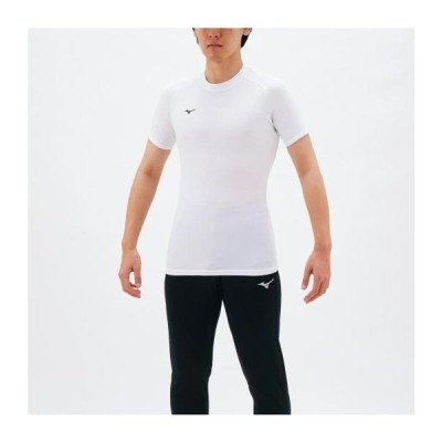 ミズノ  ミズノ バイオギアシャツ(丸首半袖)[メンズ] ホワイト(32ma115201)  スポーツ用品 取り寄せ