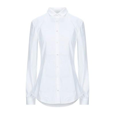 BURBERRY シャツ ホワイト 10 コットン 96% / ポリウレタン 4% シャツ