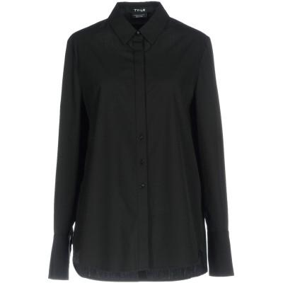 TY-LR シャツ ブラック XL コットン 60% / ポリエステル 40% シャツ