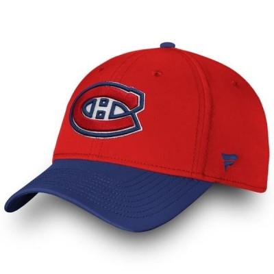 ユニセックス スポーツリーグ ホッケー Montreal Canadiens Fanatics Branded Depth Speed Flex Hat - Red/Navy 帽子
