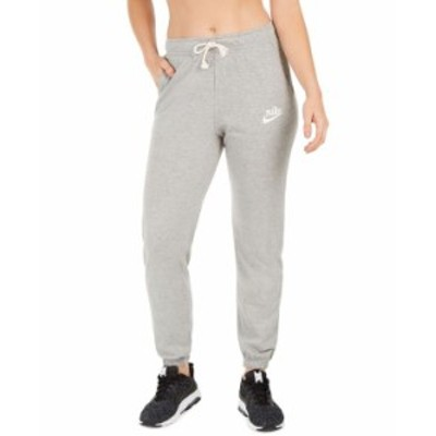 ナイキ レディース カジュアルパンツ ボトムス Women's Sportswear Gym Vintage Distressed Pants Dark Grey Heather
