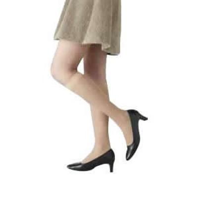 着圧ストッキング 医療用弾性ストッキング レックスフィット 薄手ハイソックス 爪先あり 中圧 Sサイズ 膝丈ストッキング