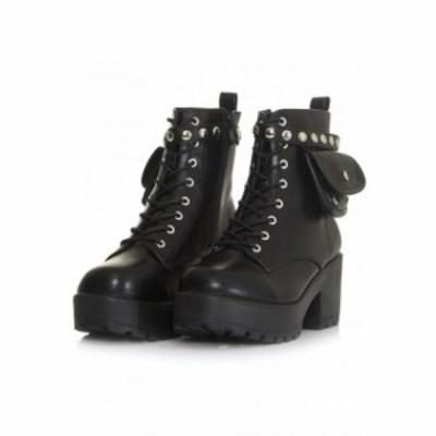 コイフットウェア Koi Footwear レディース ブーツ シューズ・靴 - Aldor Chunky Pocket black