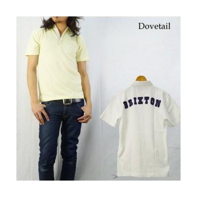 ダブテイル DOVETAIL 比翼仕立てポロシャツ