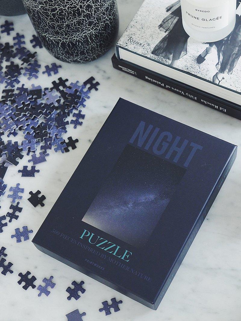 PRINTWORKS PUZZLE - NIGHT 拼圖 (500塊) (52x38 cm)