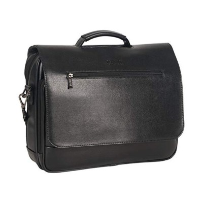 "Kenneth Cole Reaction 15.6"" Flapover Laptop Case with RFID Bag, Black One Size"