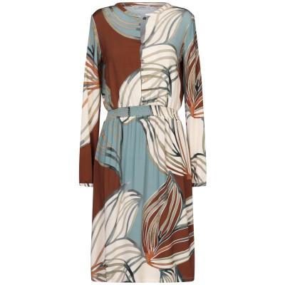 アルファスタジオ ALPHA STUDIO ミニワンピース&ドレス ベージュ 42 レーヨン 95% / ポリウレタン 5% ミニワンピース&ドレス
