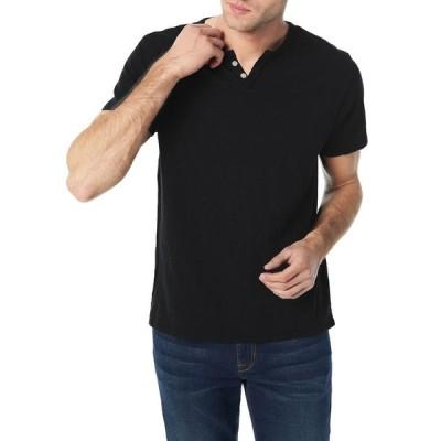 ジョーズジーンズ メンズ シャツ トップス Men's Solid Short-Sleeve Henley Shirt
