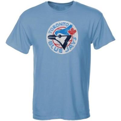 キッズ スポーツリーグ メジャーリーグ Toronto Blue Jays Youth Cooperstown T-Shirt - Light Blue Tシャツ