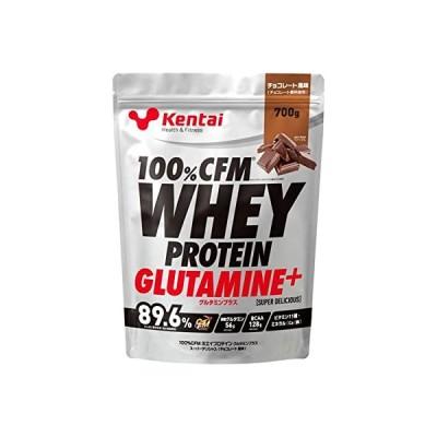 【健康体力研究所 (Kentai)】 100%CFMホエイプロテイン グルタミンプラス スーパーデリシャス チョコレート風味 700g