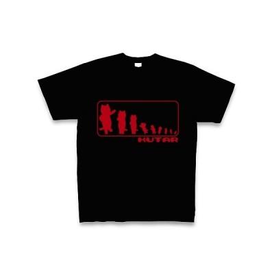 KUTAR Tシャツ Pure Color Print (ブラック)