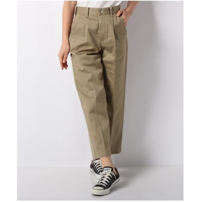 actuelselect 【Lee】TUCK TROUSER(ベージュ)【返品不可商品】