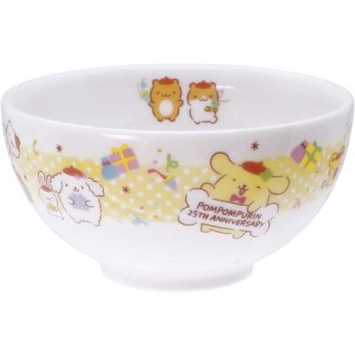金正陶器 サンリオ(SANRIO) 「 ポムポムプリン 」 お茶碗 ライスボウル 約11cm 25周年記念 304160 ホワイト