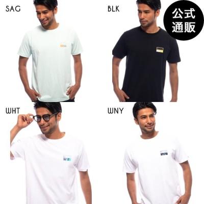 【SALE】2021 ビラボン メンズ  CLOUD NINE  DECAL CUT Tシャツ  2021年夏モデル  全4色 S/M/L/XL BILLABONG