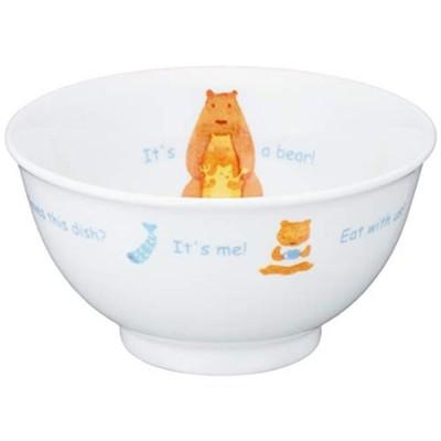 NARUMI(ナルミ) 子ども用 茶碗 みんなでたべよっ! 240cc 電子レンジ オーブン対応 日本製 40433-3321