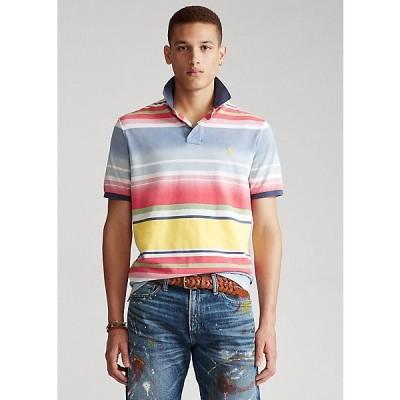 ポロ ラルフローレン メンズ Ralph Lauren Custom Slim Fit Mesh Polo ポロシャツ 半袖 French Blue Multi