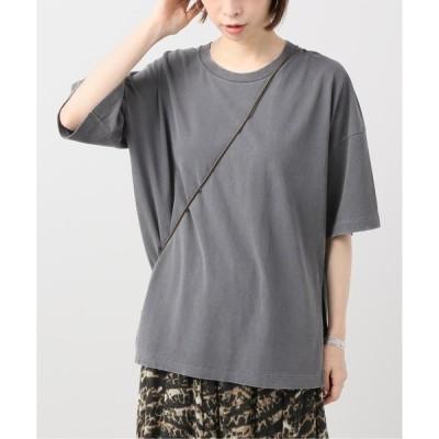 tシャツ Tシャツ CO/CU 5ブソデTシャツ