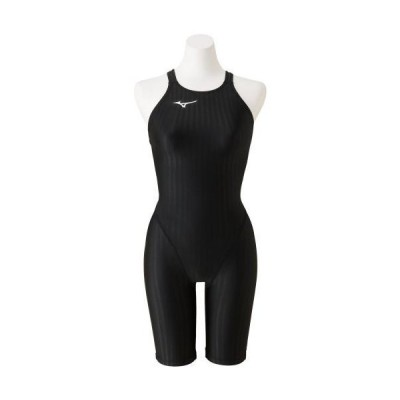 ミズノ  ミズノ 競泳用ハーフスーツ(レースオープンバック)[レディース] 09&nbspブラック(n2mg022209)  スポーツ用品 取り寄せ