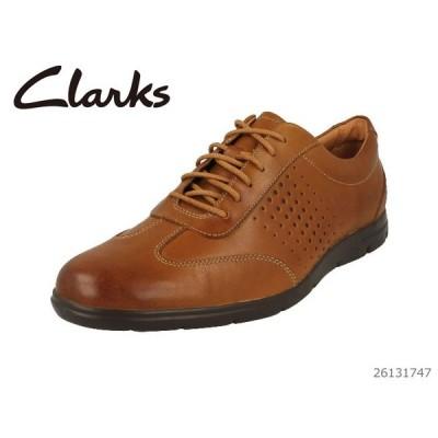 CLARKS クラークス シューズ メンズ Vennor Vibe Tan Leather 26131747