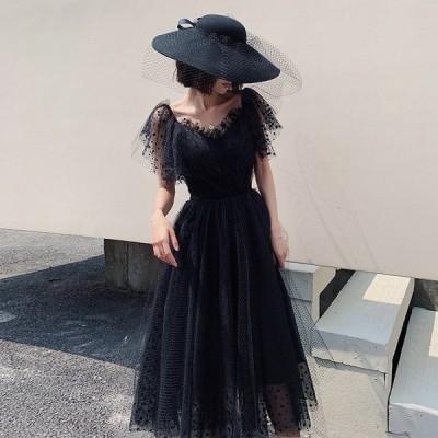 パーティードレス ワンピース 花嫁ミニドレス ウェディングドレス 簡約 花嫁二次会 演奏会 パーティードレス 可愛い ドレス 演奏会 挙式
