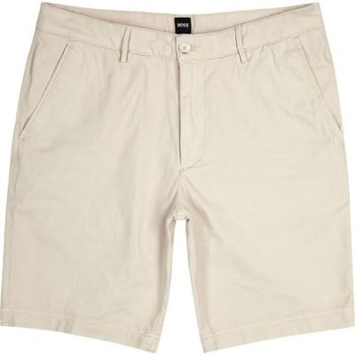 ヒューゴ ボス BOSS メンズ ショートパンツ ボトムス・パンツ slice stone cotton-blend shorts Brown