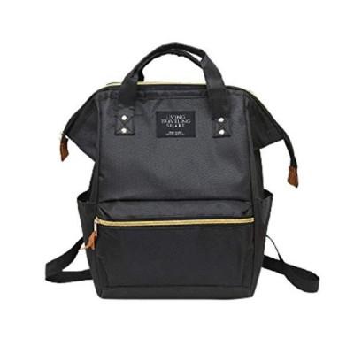 F_Gtotalカジュアル旅行バックパック、おむつバッグラップトップデイパックスタイリッシュなスクールバ