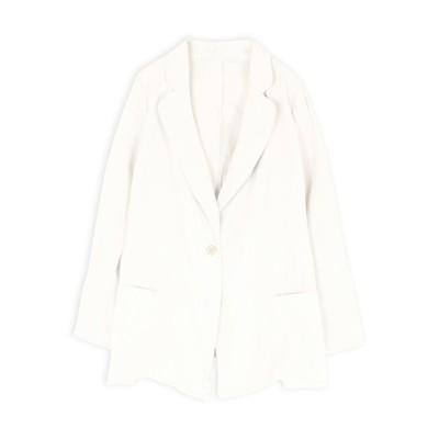 Retica / 綿テーラードジャケット WOMEN ジャケット/アウター > テーラードジャケット