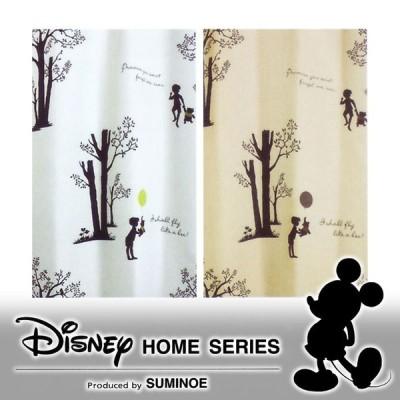 スミノエ ディズニーホームシリーズ プー/シャイニーパーク 既製カーテン 100×135cm