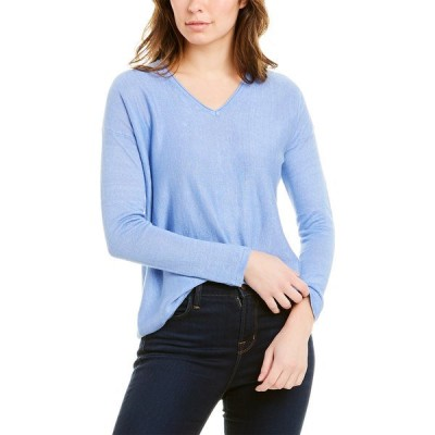 ジェーマクラフリン ニット&セーター アウター レディース J.McLaughlin Linen Sweater light blue