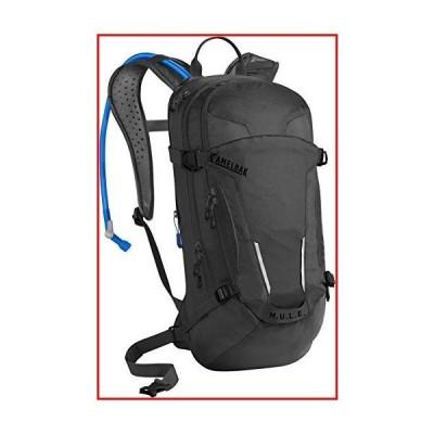 【新品未使用】M.U.L.E. Mountain Biking Hydration Pack - Easy Refilling Hydration Backpack - Magnetic Tube Trap - 100 oz., Black【並