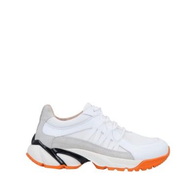 ファビアナフィリッピ FABIANA FILIPPI スニーカー&テニスシューズ(ローカット) ホワイト 36 革 / 紡績繊維 スニーカー&テニス