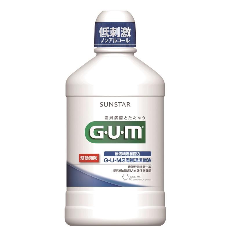 GUM牙周護理潔齒液