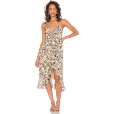バルドー Bardot レディース ワンピース ワンピース・ドレス briana dress bardot Nude Leopard