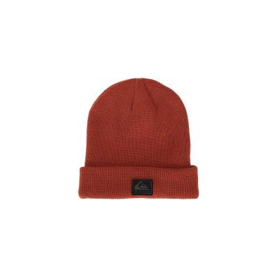 クイックシルバー QUIKSILVER 帽子 レンガ one size アクリル 100% 帽子