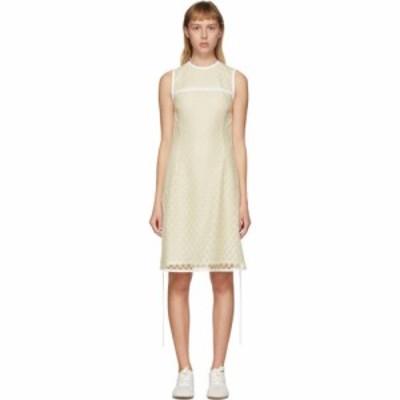 ロエベ Loewe レディース ワンピース ミニ丈 ワンピース・ドレス Yellow Lace Mini Dress Yellow
