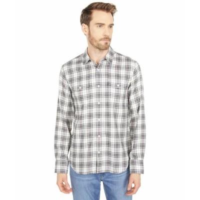 ペイジ シャツ トップス メンズ Everett Shirt in Beige Rock Beige Rock