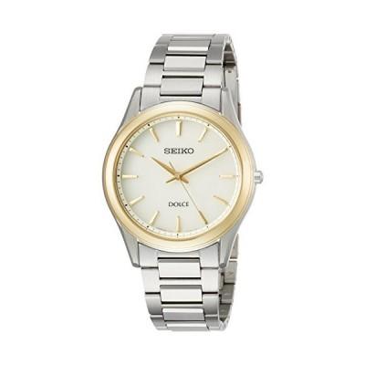 [セイコーウォッチ] 腕時計 ドルチェ 薄型ソーラー ペアモデル Comfotex SADL014 メンズ シルバー