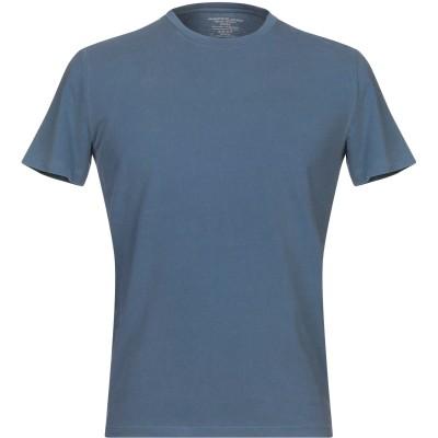 マジェスティック MAJESTIC FILATURES T シャツ ブルーグレー M コットン 94% / ポリウレタン 6% T シャツ