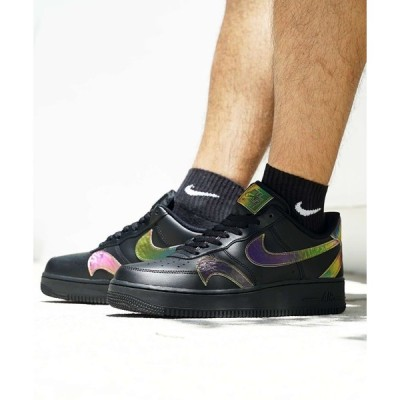 スニーカー NIKE AIR FORCE 1 '07 LV8 (BLACK/MULTI-COLOR-BLACK) 【SP】