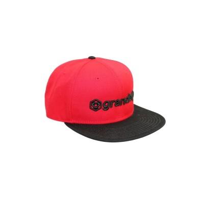 COLLARS / grande f.p.3D刺繍フラットバイザーキャップ MEN 帽子 > キャップ