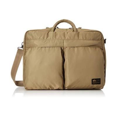 アルファインダストリーズ 公式アルファ ビジネスバッグ 3way コーデュラ ナイロンツイル TZ1050-016 サンド