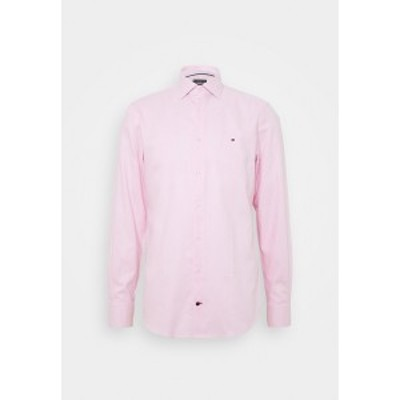 トミー ヒルフィガー メンズ シャツ トップス DOBBY CLASSIC SLIM FIT SHIRT - Formal shirt - pink pink